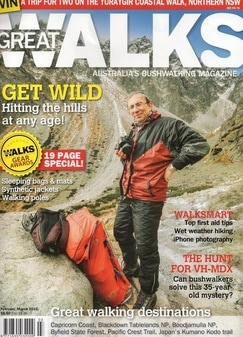 GREAT WALKS Magazine Feb-Mar 2016 In The Land of the Rising Sun - Feature Article (p 14-20) A Wetter Point of View - Walksmart Article  (p 56-57)